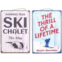 Dom Slike, platna Signes Grimalt Wall Plate Ski 2. September U Multicolor