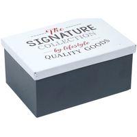Dom Kovčki in škatle za shranjevanje Signes Grimalt Kovinska Škatla Multicolor