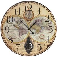 Dom Ure Signes Grimalt Zemljevidne Ure Beige