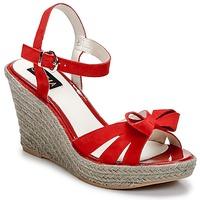 Čevlji  Ženske Sandali & Odprti čevlji C.Petula SUMMER Rdeča
