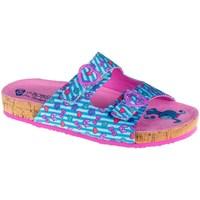 Čevlji  Deklice Natikači Skechers Granola Modra, Roza