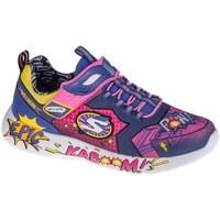 Čevlji  Otroci Nizke superge Skechers Dynamight Modra, Rumena, Roza