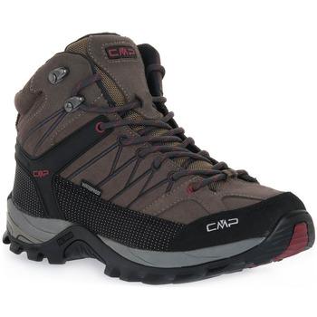 Čevlji  Ženske Tek & Trail Cmp 02PD RIGEL MID TREKKING Grigio
