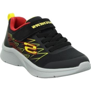 Čevlji  Otroci Nizke superge Skechers Microspec Texlor Črna