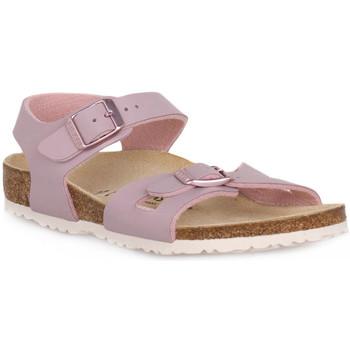 Čevlji  Otroci Sandali & Odprti čevlji Birkenstock RIO LAVENDER BLUSH CALZ S Grigio