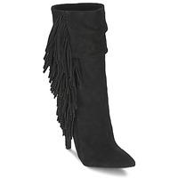 Čevlji  Ženske Gležnjarji Aldo CIREVEN Črna