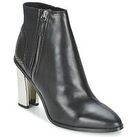 Čevlji  Ženske Gležnjarji Aldo SARESEN Črna