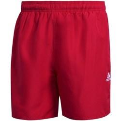 Oblačila Moški Kopalke / Kopalne hlače adidas Originals Solid Swim Rdeča