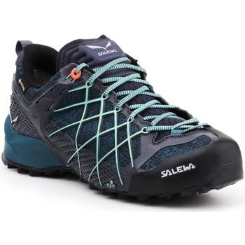 Čevlji  Ženske Pohodništvo Salewa Buty trekkingowe  Wildfire GTX 63488-3838 navy , blue, black