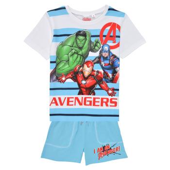 Oblačila Dečki Otroški kompleti TEAM HEROES  AVENGERS SET Večbarvna