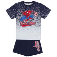 Oblačila Dečki Otroški kompleti TEAM HEROES  SPIDERMAN SET Večbarvna
