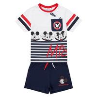 Oblačila Dečki Otroški kompleti TEAM HEROES  MICKEY SET Večbarvna