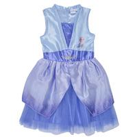 Oblačila Deklice Kratke obleke TEAM HEROES  FROZEN DRESS Modra