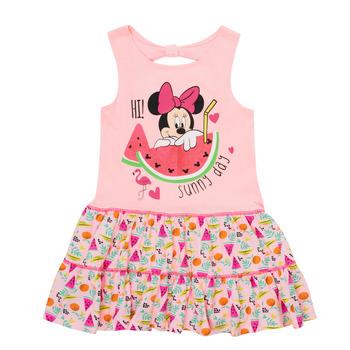 Oblačila Deklice Kratke obleke TEAM HEROES  MINNIE DRESS Rožnata