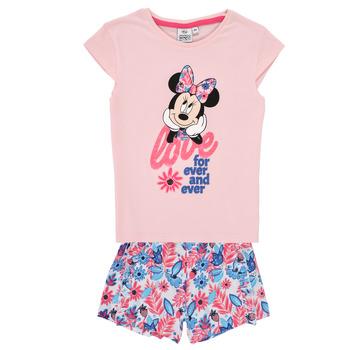 Oblačila Deklice Otroški kompleti TEAM HEROES  MINNIE SET Rožnata