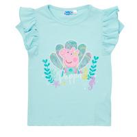 Oblačila Deklice Majice s kratkimi rokavi TEAM HEROES  PEPPA PIG TEE Modra