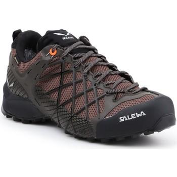 Čevlji  Moški Pohodništvo Salewa MS Wildfire GTX 63487-7623 brown, black