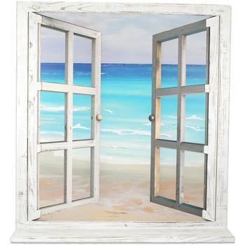 Dom Slike, platna Signes Grimalt Okno Polje Morje Multicolor