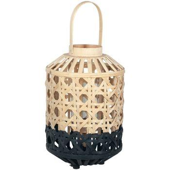 Dom Namizne svetilke Signes Grimalt Majhna Svetilka Iz Naravnega Bambusa Negro