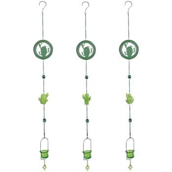 Dom Dekoracija za zabave Signes Grimalt Obesek Kaktus T-Lite 3U Verde