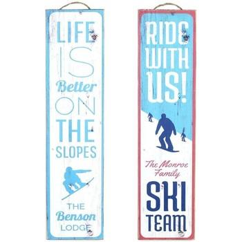 Dom Slike, platna Signes Grimalt Wall Plate Ski 2. September U Azul