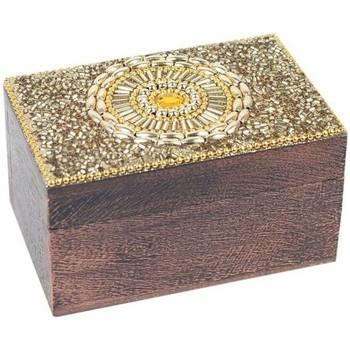 Dom Kovčki in škatle za shranjevanje Signes Grimalt Pravokotni Box Dorado