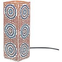 Dom Namizne svetilke Signes Grimalt Pravokotni Mosaic Lamp Multicolor