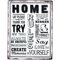 Dom Slike, platna Signes Grimalt Home Plate Wall Multicolor