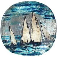 Dom Posode za ključe Signes Grimalt Okrogla Jed Boat Azul
