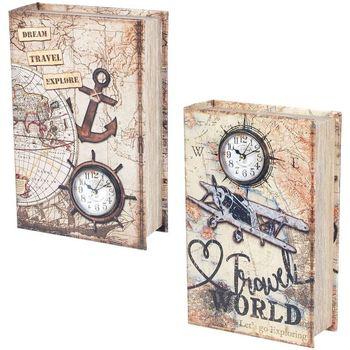 Dom Kovčki in škatle za shranjevanje Signes Grimalt Knjiga 2 Različne Polje 2U Multicolor