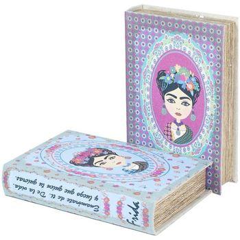 Dom Kovčki in škatle za shranjevanje Signes Grimalt Knjiga 2 Različne Polje 2U Azul