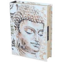 Dom Kovčki in škatle za shranjevanje Signes Grimalt Knjiga Varnost Box-Buda Beige