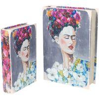 Dom Kovčki in škatle za shranjevanje Signes Grimalt Knjiga Frida 2U Škatle V Septembru Multicolor