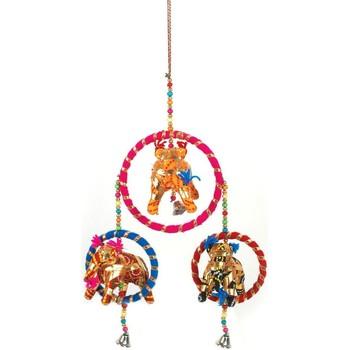 Dom Dekoracija za zabave Signes Grimalt Obesek Indijskega Slona Multicolor