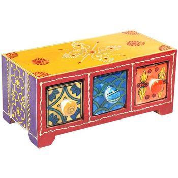 Dom Kovčki in škatle za shranjevanje Signes Grimalt Especiero 3 Predali Multicolor