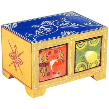 Dom Kovčki in škatle za shranjevanje Signes Grimalt Especiero 2 Predali Multicolor