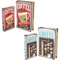 Dom Kovčki in škatle za shranjevanje Signes Grimalt Book Box Set 4U Multicolor