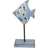 Dom Kipci in figurice Signes Grimalt Trencadis Ribe Azul