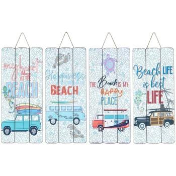 Dom Slike, platna Signes Grimalt Wall Krožnika Surf 4 Dif. Multicolor