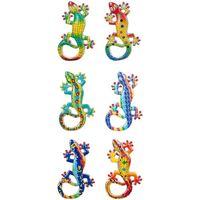 Dom Kipci in figurice Signes Grimalt Magnetna Lagartos 6 Dif. Multicolor