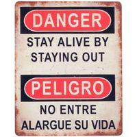 Dom Slike, platna Signes Grimalt Wall Plošča Nevarnost / Nevarnost Multicolor