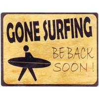 Dom Slike, platna Signes Grimalt Gone Surfin Stenska Plošča Amarillo