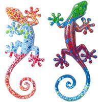 Dom Kipci in figurice Signes Grimalt Mali Kuščarji 2U Multicolor