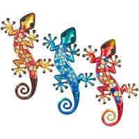 Dom Kipci in figurice Signes Grimalt Kristalni Kuščar 3U Multicolor