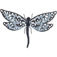 Dom Kipci in figurice Signes Grimalt Dragonfly Z Metal Relief Gris