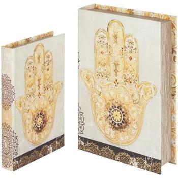 Dom Kovčki in škatle za shranjevanje Signes Grimalt Hand Knjiga Fatima Septembra 2U Beige