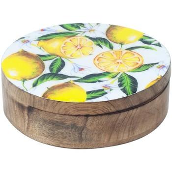Dom Kovčki in škatle za shranjevanje Signes Grimalt Limone Krog Box Multicolor