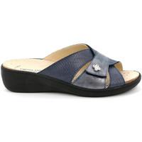 Čevlji  Ženske Natikači Grunland CE0700 Modra
