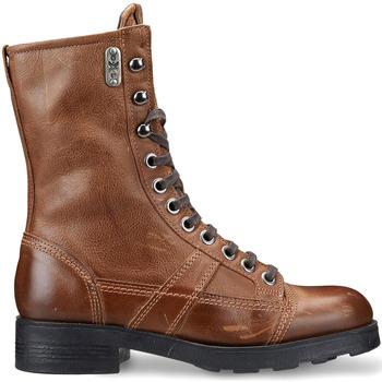 Čevlji  Ženske Gležnjarji OXS OXS101167 Rjav
