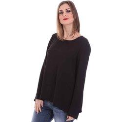Oblačila Ženske Topi & Bluze Fracomina F120W19008W00401 Črna